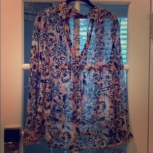 Floral blouse for love and lemons